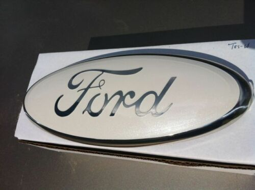 """9/"""" FORD-blue Tailgate OR Grille Emblem,STICK ON,CUSTOM PAINT,DEALER PURCHASED"""
