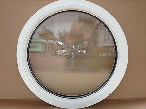 finest selection 70b07 91ca7 Details about uPVC round circular window double glazed Dragon Fly