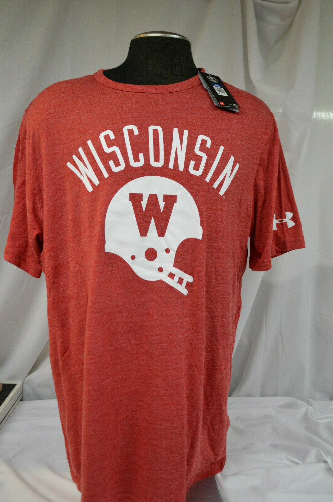 Wisconsin Badgers Tech Polo Red red 2XL