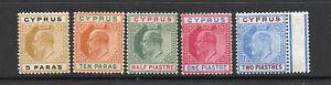 Cyprus-SG-60-62-64-65-MLH-wmk-multi-crown-CA-Lot-0820034