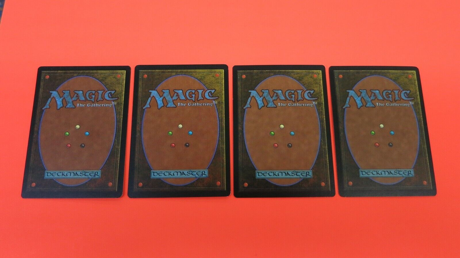 4x  MOUNTAIN  MIRAGE  BASIC LAND MTG MAGIC THE GATHERING BASIC LAND X4   NM//MINT