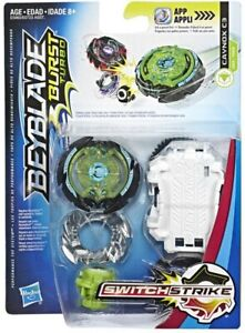 Beyblade-Burst-Turbo-SwitchStrike-Caynox-C3-D53-TD09-Starter-Pack-New