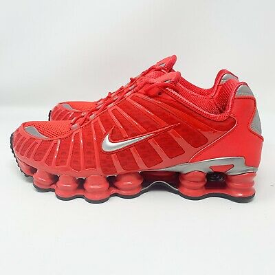 2f37b29edbbce Details about NEW Size 10 Men's Nike Shox TL Running Shoe Speed Red  BV1127-600