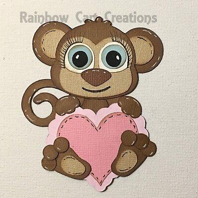 20 Happy Valentine Day Card Sentiment 3 Die Cut Embellishment Cutout Card Topper