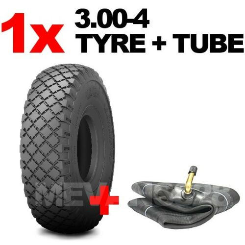 Cart 300-4 3.00-4 Tyre /& Tube 260x85 300-4 Fishing Trolley Tire Sack Truck