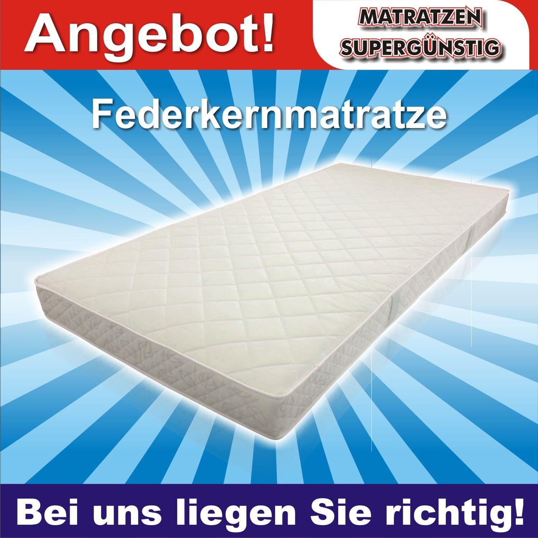 Federkern Matratze  Mosbach  80x200x18cm - günstig und solide