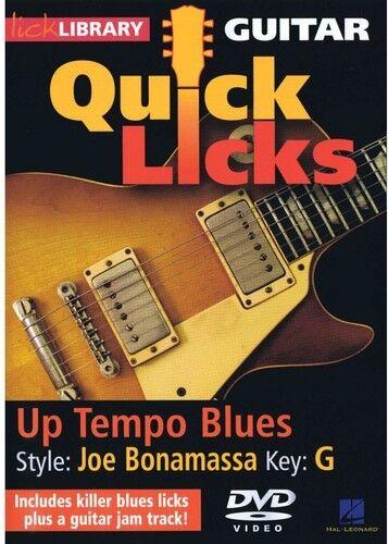 Up Tempo Blues: Quick Licks [New DVD]