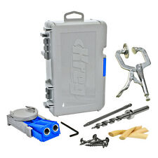 Kreg R3 Jr Pocket Hole Jig Joinery System Kit + 2-Inch Face Clamp