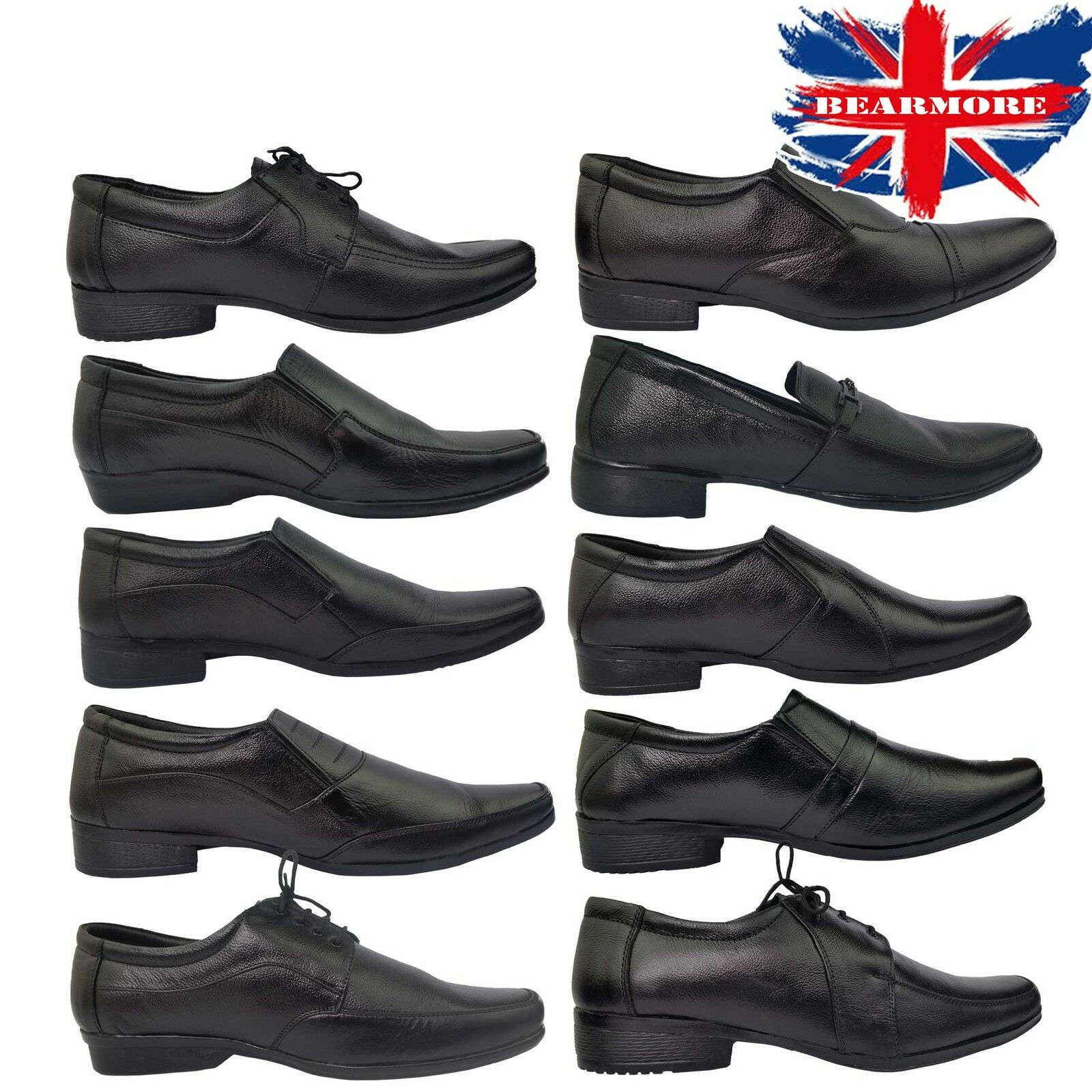 NEW MENS SHOES GENTS SMART OFFICE WEDDING SHOES MENS DRESS WORK CASUAL FORMAL 45aba9