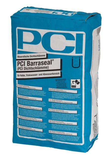 PCI Barraseal 25kg Mineralische Enduit D'Étanchéité Trinkwasser- &