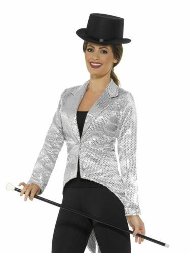 Monsieur Loyal Sequin Habit Femme Costume Circus Ladies Fancy Dress Outfit