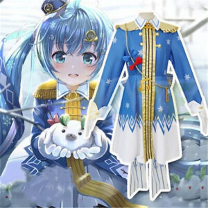 Vocaloid Hatsune Miku Snow Miku 2020 Cosplay Fantasia Conjunto Completo Roupa De Halloween Ebay