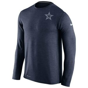 New-Nike-Dallas-Cowboys-NFL-Football-Dri-Fit-Touch-Long-Sleeve-t-shirt-men-039-s-2XL