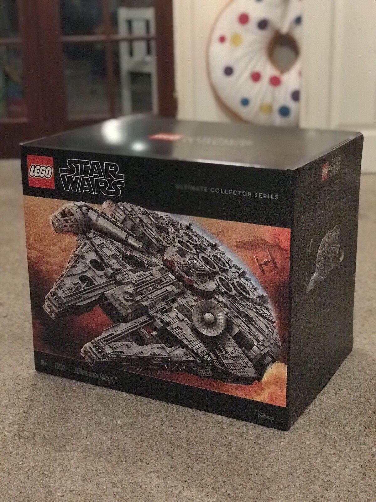 NEUF LEGO Star Wars UCS Millennium Falcon 75192 Très Rare  Non Ouvert