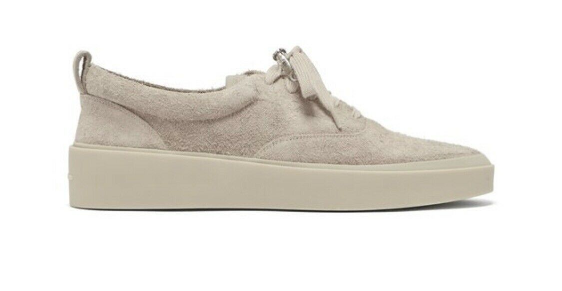 Fear Of God 101 Low Top Suede scarpe da ginnastica US10 EU43 UK9 God grigio 6th Jerry Lorenzo