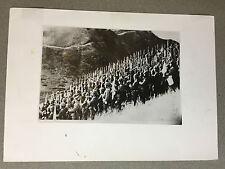 ww2 photo press  Army of Japan , Salut au soleil Levant     A85