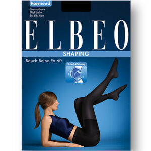 ELBEO SHAPING Collant mat gainant amincissant Bauch Beine Po 60Den