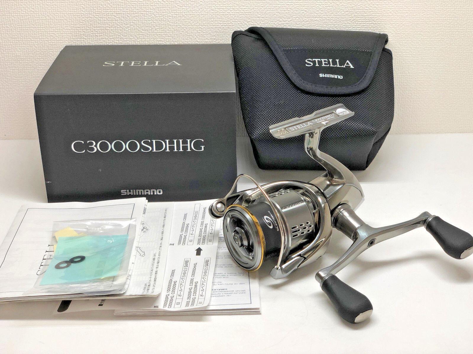 Shimano 18 Stella C 3000 sdhhg-Envío gratuito desde Japón