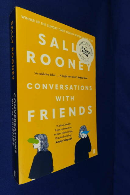 CONVERSATIONS WITH FRIENDS Sally Rooney BOOK Fiction