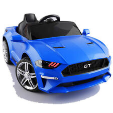 GT Raptor 2x Motoren Elektro Kinderauto Kinder Elektroauto m. Fernbedienung Blau