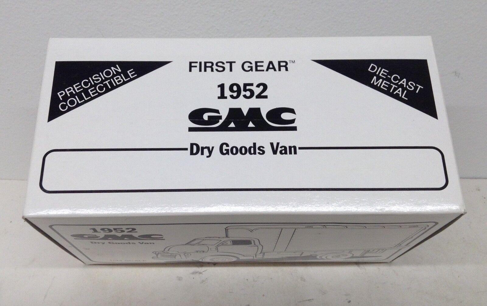 Universidad de Iowa Hawkeyes Football Football Football 1952 GMC Dry Goods van 1st First Gear 1 34 d9d756