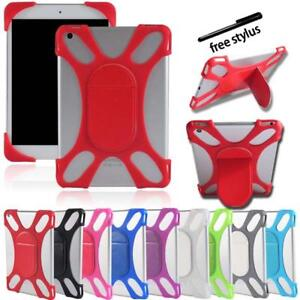 Shockproof-Silicone-Stand-Bumper-Cover-Case-For-Various-HP-Tablet-Stylus