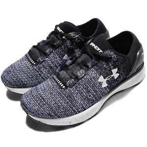 2b9190ba1 Under Armour Charged Bandit 3 III UA Black Blue Women Running Shoes ...