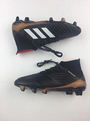 a1fac82bb Adidas Men s Predator 18.1 FG Cleats (Black Solar Red) BB6354 Size 7 K66