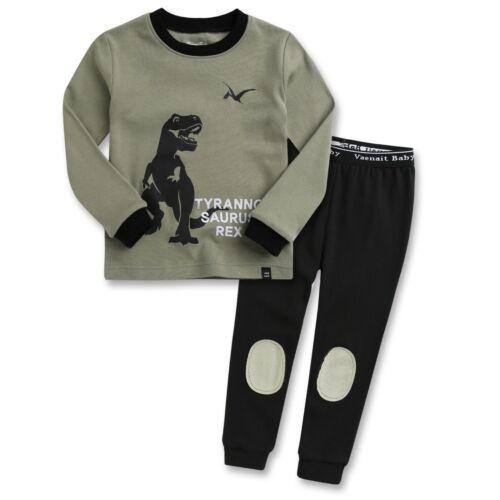 "Vaenait Baby Top+Pants Toddler Boys Clothes Long Pajama Set 18M-12Y /""40Style/"""