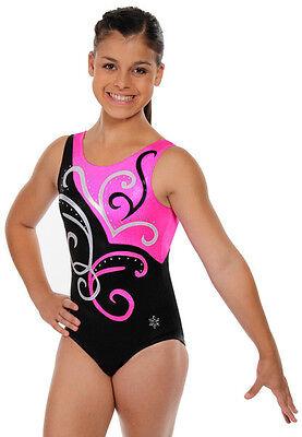 NEW!! Curvation Gymnastics Tank Leotard by Snowflake Designs