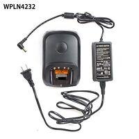 Rapid No-impres Charger For Motorola Dp4800e Dp4801e Dp2400 Portable Radio