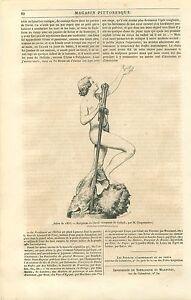 David Vainqueur de Goliath par John-Étienne Chaponnière GRAVURE OLD PRINT 1835 - France - David Winner of Goliath Sculpture by John-Étienne Chaponnire SculptorArticle Complet ANTIQUE PRINT GRAVURE 100 % DÉPOQUE 1835 PORT GRATUIT EUROPE A PARTIR DE 4 OBJETS BUY 4 ITEMS AND EUROPE SHIPPING IS FREE Il s'agit d'un fragment de page origi - France