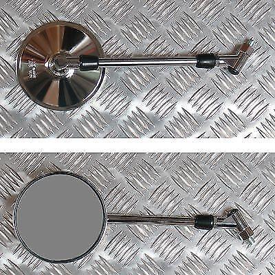 GSF600 Pair Mirrors 10mm Chrome Round Left /& Right Suzuki GSF400