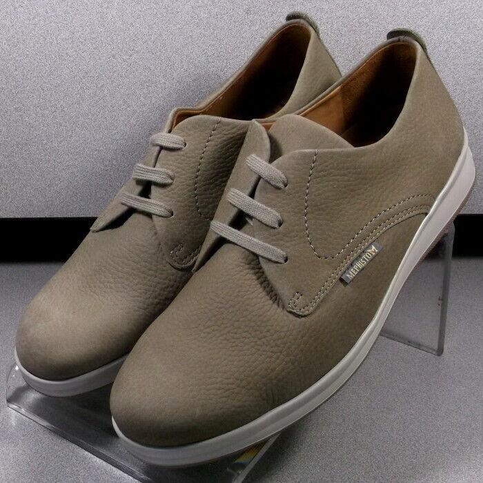 Lester Beige MMSP 75 para hombres zapatos talla 7.5 M (EUR 7) Cuero con Cordones Mephisto