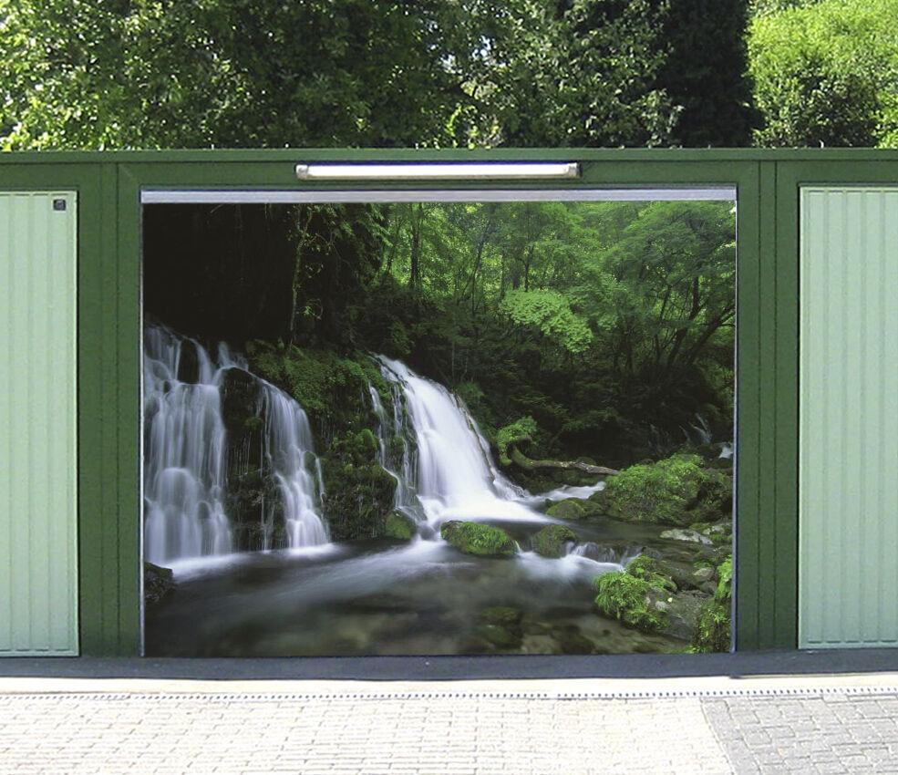 3D Forest Falls 35 Garage Door Murals Wall Print Decal Wall Deco AJ WALLPAPER IE