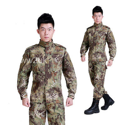 TACTICAL UNIFORM US SPECIAL FORCES JACKET PANTS TROUSERS KRYPTEK CAMO-35656