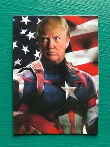 DONALD-TRUMP-Captain-America-Avengers-Endgame-Custom-Parody-MAGA-Baseball-Card
