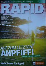 Programm Friendly 6.7.2014 Rapid Wien - Celtic FC