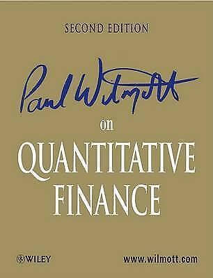 1 of 1 - Paul Wilmott on Quantitative Finance by Paul Wilmott (Hardback, 2006)