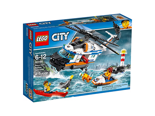 LEGO CITY 60166 Elicottero della Guardia Costiera IMBALLATO