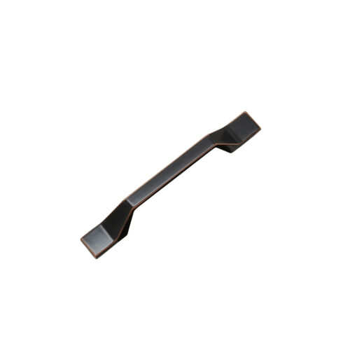 Black Brass Designer Matte Black Cupboard Handle