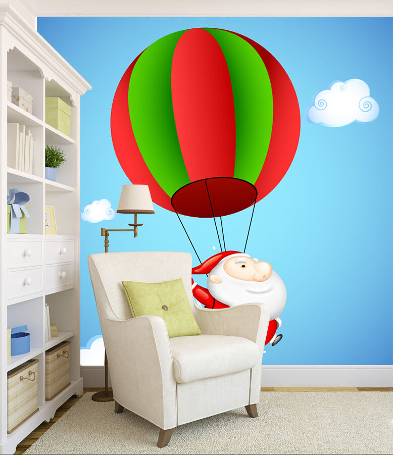 3D Sky Hot Air Balloon 835 Wallpaper Mural Paper Wall Print Wallpaper Murals UK