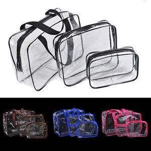 3Pcs-Set-PVC-Waterproof-Transparent-New-Travel-Wash-Bag-Makeup-Organizer-Bags