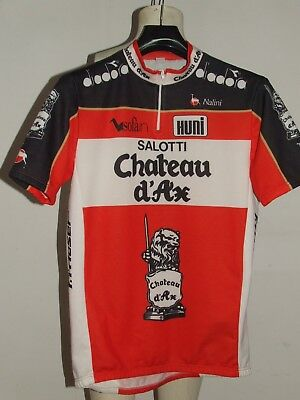 Salotti Chateau D Ax.Shirt Bike Cycling Shirt Maillot Cyclism Sport Team Chateau D Ax
