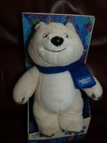 COLLECTABLE TEDDY BEAR SOFT TOY WINTER OLYMPICS GAMES SOCHI RUSSIA 2014