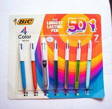 Bic 7ct Four Color Pen Set