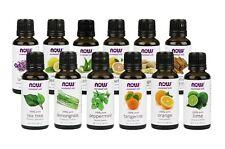 NOW Foods Essential Oils & Blend Oils Aromatherapy 1 fl oz - CHOOSE SCENT