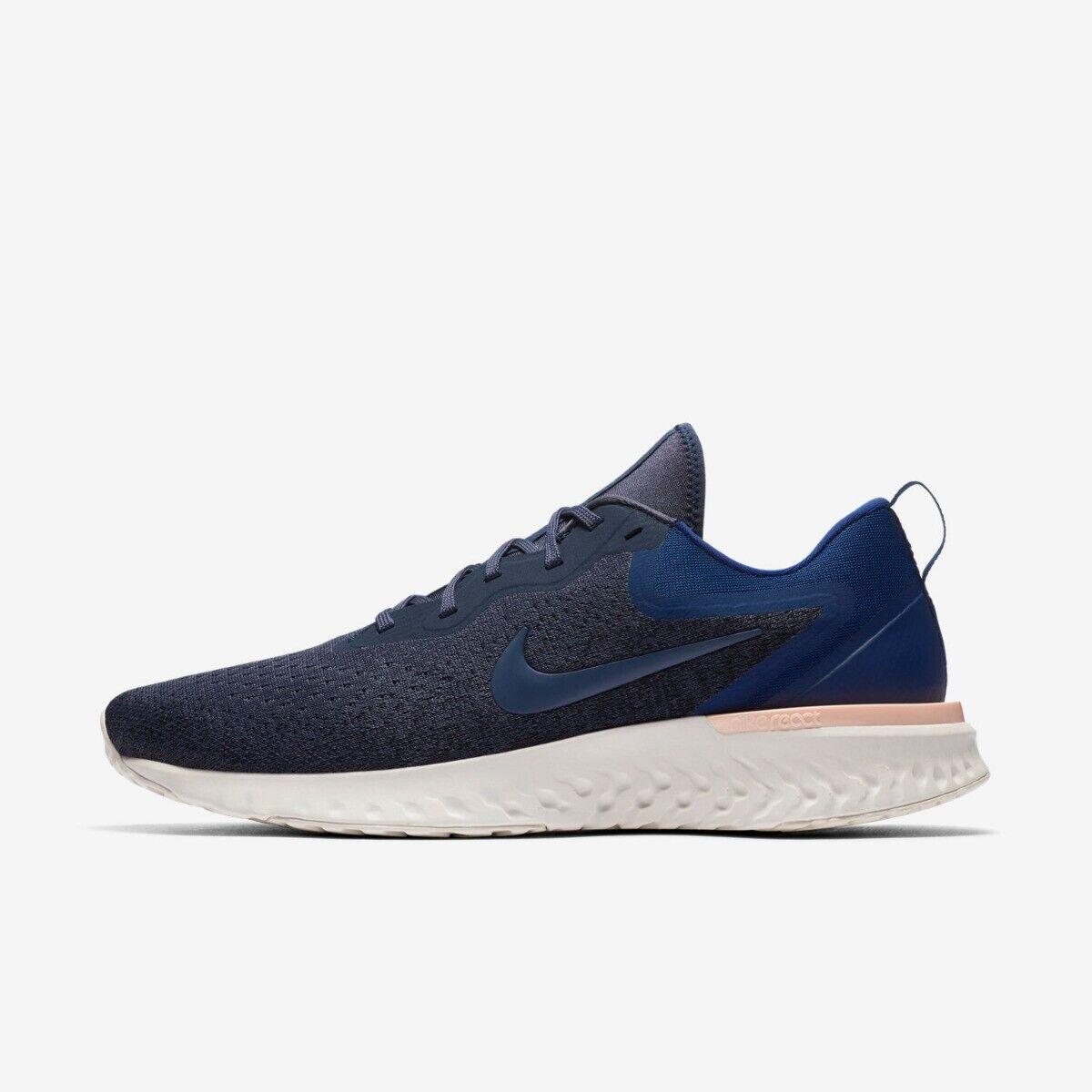 Nike Odyssey Reagieren Herren Laufschuhe Turnschuhe Größe 10 11 12 Donner Blau Reiches Design