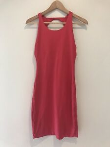 KOOKAI Ladies Pink Bodycon Fitted Dress Women s Size 1 Approx AU ... 3c5984066