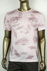 NEW-Authentic-Gucci-Pink-034-Kris-Knight-034-Graphic-Crew-Neck-T-Shirt-XL-374442-9142
